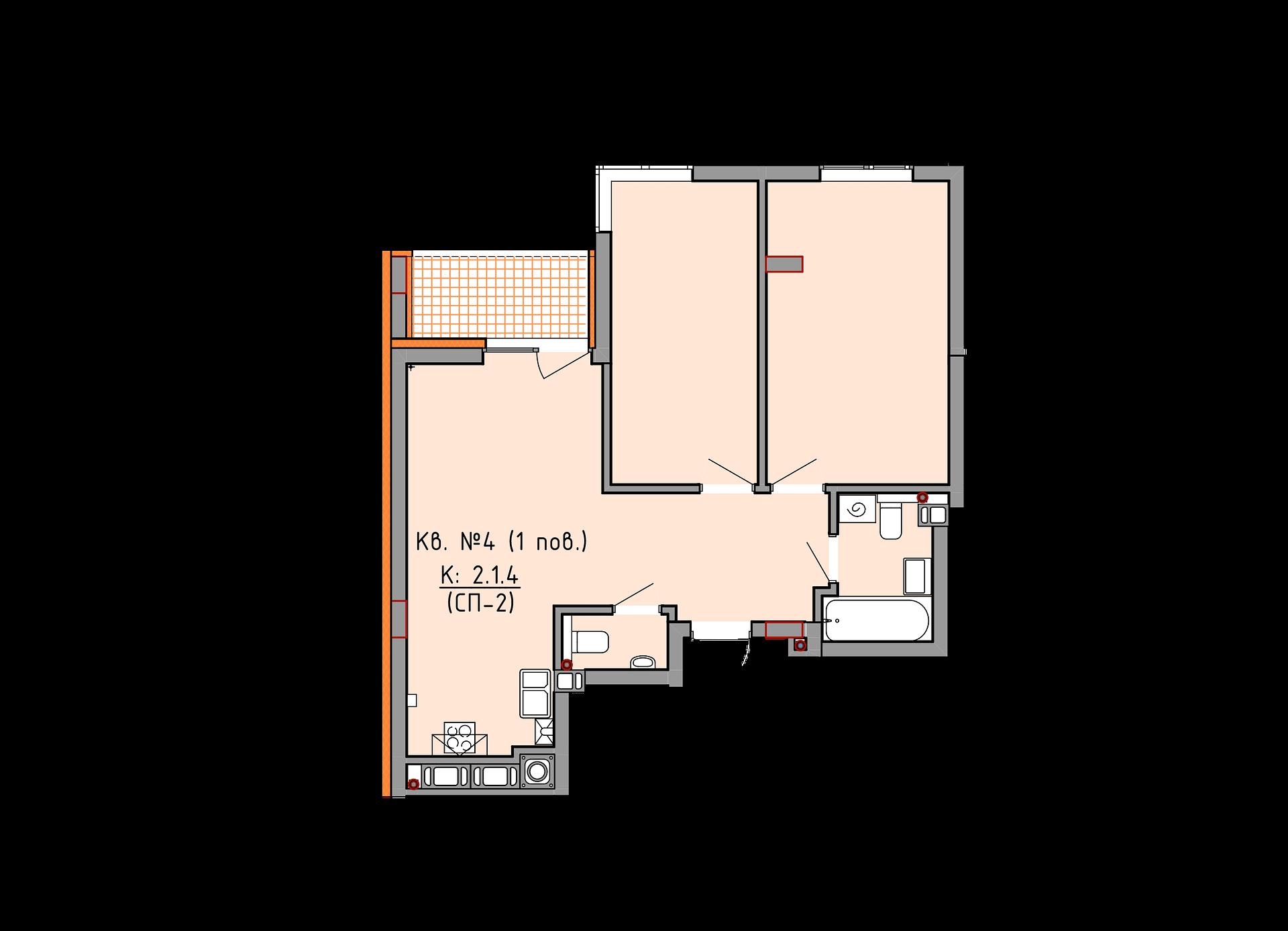 2 секція 1 поверх 4